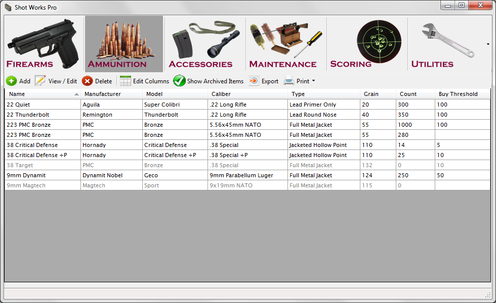 ammunition inventory form pike productoseb co